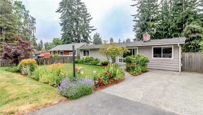 Burien Single Family Home For Sale: 1409 SW 164th
