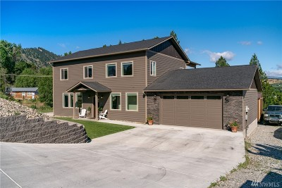 Chelan County Single Family Home For Sale: 206 Skyline Dr