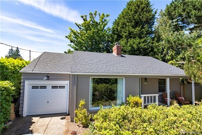 Seattle Single Family Home For Sale: 3633 41st Ave W