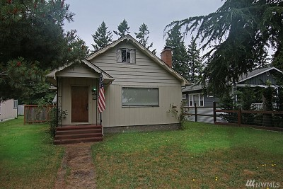 Pierce County Single Family Home For Sale: 9831 Veterans Drive SW