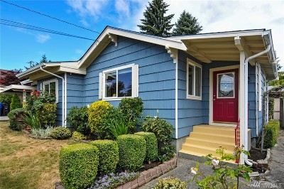 Seattle Single Family Home For Sale: 1110 NW 92nd St