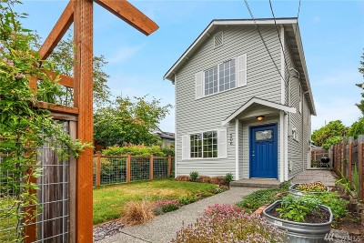 Seattle Single Family Home For Sale: 506 N 100th St