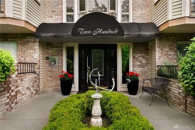 Bellevue Condo/Townhouse For Sale: 200 99th Ave NE #47