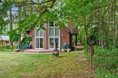 Hoodsport Single Family Home For Sale: 361 N Duckabush Drive E
