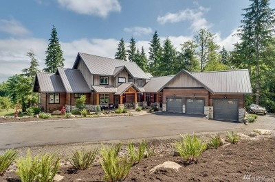 North Bend WA Single Family Home For Sale: $1,625,000