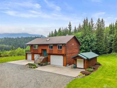 Granite Falls Single Family Home For Sale: 26920 Mountain Loop Hwy
