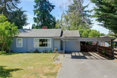 Shoreline Single Family Home For Sale: 18201 10th Ave NE