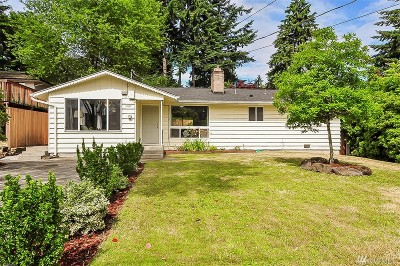 Burien Single Family Home For Sale: 15837 7th Ave SW