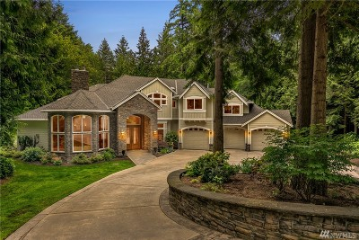 Sammamish Single Family Home For Sale: 1022 258th Ave NE