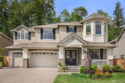 Sammamish Single Family Home For Sale: 26624 SE 9th Wy