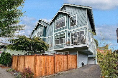 Seattle Single Family Home For Sale: 7019 California Ave SW