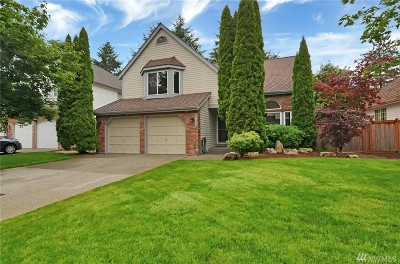 Sammamish Single Family Home For Sale: 25438 SE 42nd Place