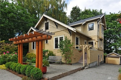 Seattle Single Family Home For Sale: 3506 E Schubert Place