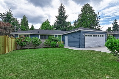 Shoreline Single Family Home For Sale: 2147 N 156th Place
