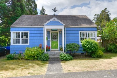 Olympia Single Family Home For Sale: 1107 6th Ave SW