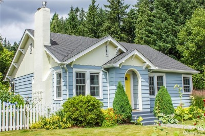 Olympia Single Family Home For Sale: 2815 Boundary St SE