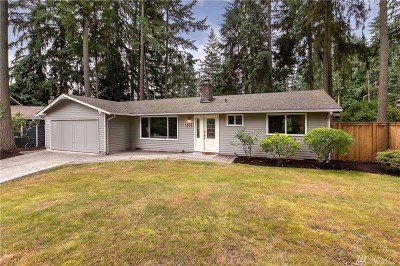 Redmond Single Family Home For Sale: 13521 NE 78th Place