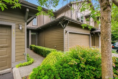 Snoqualmie Condo/Townhouse For Sale: 7704 Fairway Ave SE #603