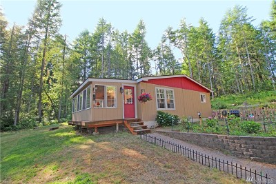 Port Orchard Single Family Home Pending Inspection: 575 SW Wycoff Rd