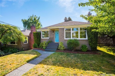 Seattle Single Family Home For Sale: 8041 12th Ave NE
