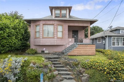 Seattle Single Family Home For Sale: 1107 Martin Luther King Jr Wy