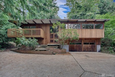 Mercer Island WA Single Family Home For Sale: $1,200,000