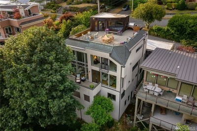 Seattle Single Family Home For Sale: 201 Prospect St