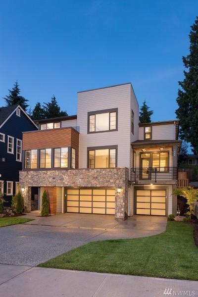 Bellevue Single Family Home For Sale: 592 155th (Homesite 5) Place NE