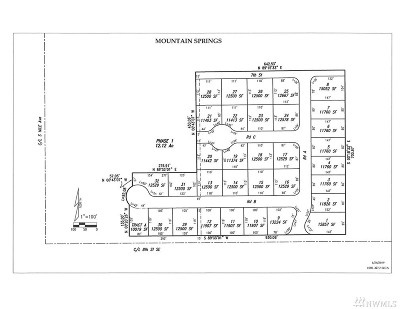 Residential Lots & Land For Sale: Mountain Springs Subdivision