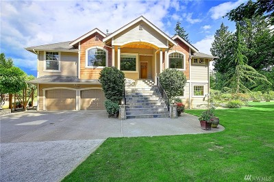 Stanwood Single Family Home For Sale: 3307 268th St NW