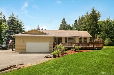 Snohomish Single Family Home For Sale: 522 S Lake Roesiger Rd