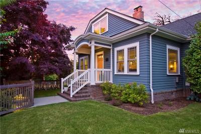 Seattle Single Family Home For Sale: 1722 Warren Ave N