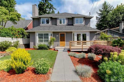 Seattle Single Family Home For Sale: 1250 NE 95th St