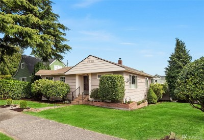 Seattle Single Family Home For Sale: 3623 SW Henderson St