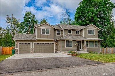 Snohomish Single Family Home For Sale: 3506 183rd Dr NE