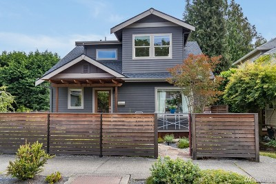 Seattle Single Family Home For Sale: 534 31st Ave
