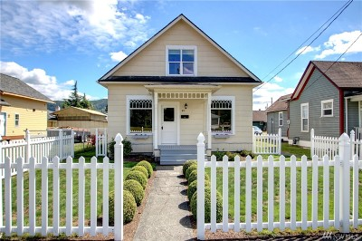 Sedro Woolley Single Family Home Pending: 631 State St
