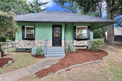 Tacoma Single Family Home For Sale: 1113 S 96th St