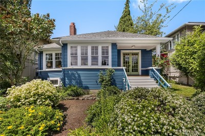 Seattle Single Family Home For Sale: 4529 Eastern Ave N