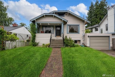 Seattle Single Family Home For Sale: 7543 25th Ave NE