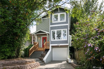 Seattle Single Family Home For Sale: 2131 N 87th St