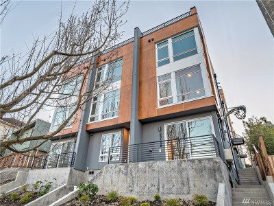 Seattle Single Family Home For Sale: 2013 15th Ave S #A