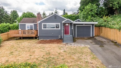 Seattle Single Family Home For Sale: 8241 S 122nd St