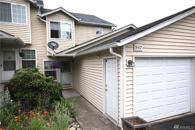 Puyallup Condo/Townhouse For Sale: 5417 99th St Ct E