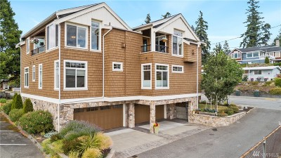 Edmonds Single Family Home For Sale: 656 Daley St #1