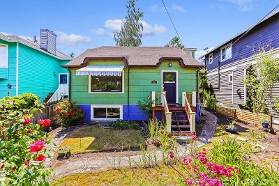 Seattle Single Family Home For Sale: 8417 18th Ave SW