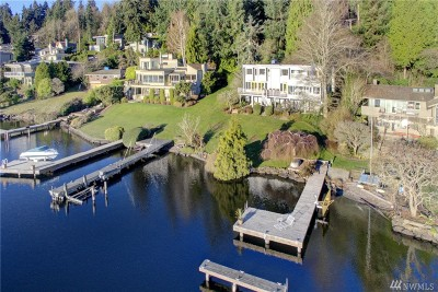 Mercer Island Single Family Home For Sale: 5438 E Mercer Way