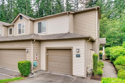 Sammamish Condo/Townhouse For Sale: 4489 248th Lane SE