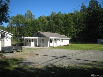 Single Family Home For Sale: 4013 Old Hwy 99 N