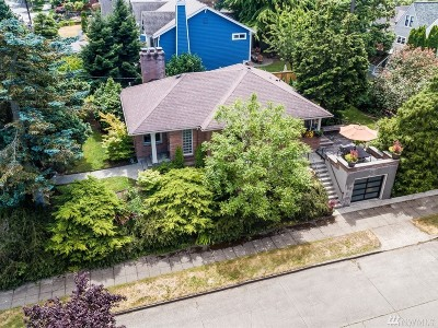 Seattle Single Family Home For Sale: 3703 40th Ave SW